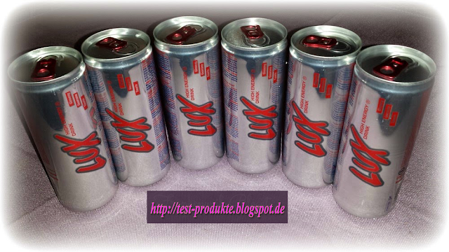 Produkttest-Lux High Energy Drink