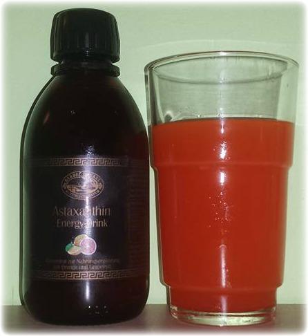 Bärbel Drexel – Natürlich Natur – Astaxanthin Energy-Drink