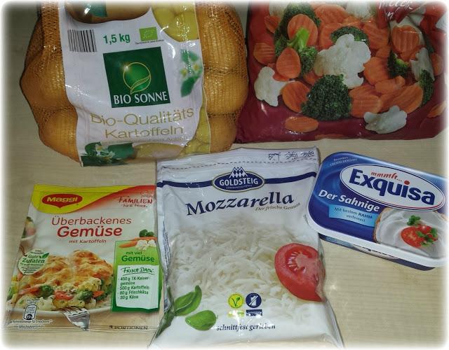 Kochen mit Maggi Familien Fix und Frisch – Überbackenes Gemüse mit Kartoffeln