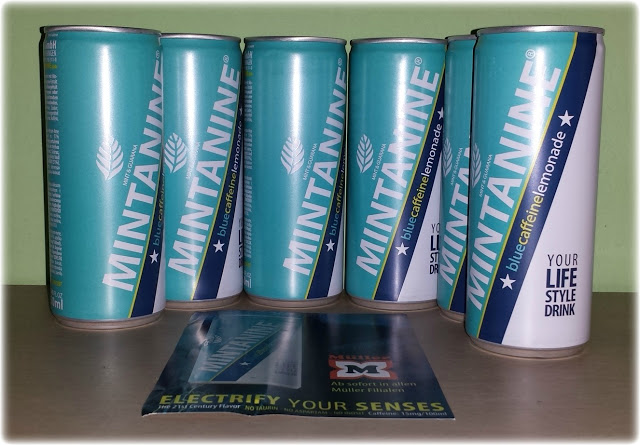 MINTANINE – blau schmeckt wow – your life style drink