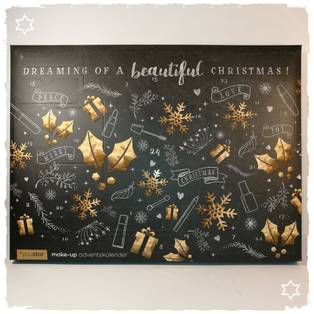 YOUSTAR | BEAUTIFUL X-MAS Make-Up Adventskalender 2017