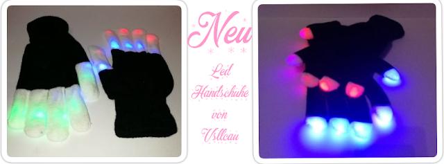 Kurzreview: 2 Paar LED Handschuhe von Vsllcau