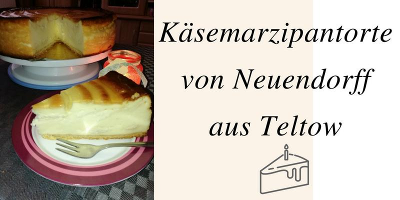 Käsemarzipantorte von Neuendorff aus Teltow