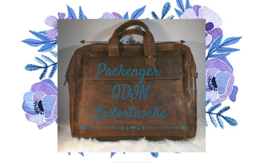 Packenger – die Ledertasche ODIN in Vintage Braun